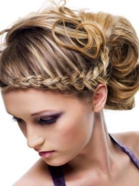 Hair style woman