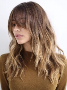 Hairstyles Cut For Long Hair 36 Stunning Hairstyles  Haircuts With Bangs For Short, Medium Long  - HAIRCUTS AND HAIR STYLING
